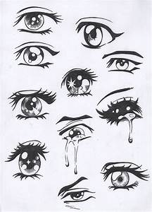 Sad anime eyes | cute drawings i want to draw | Pinterest ...