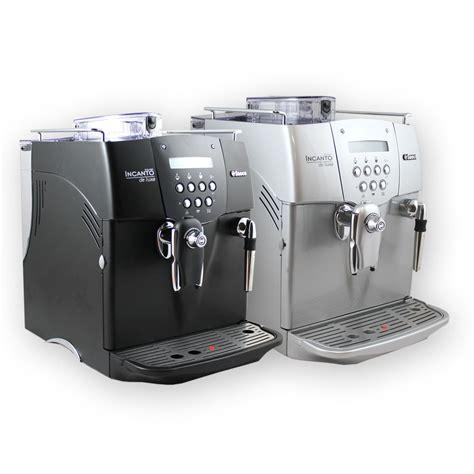 cuisiniste de luxe saeco incanto de luxe s class kaffeevollautomat kaffee