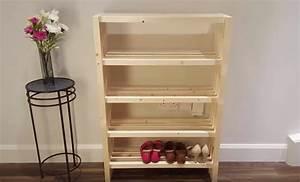 Petit Meuble à Chaussures : tutoriel fabriquer un meuble chaussures ~ Teatrodelosmanantiales.com Idées de Décoration