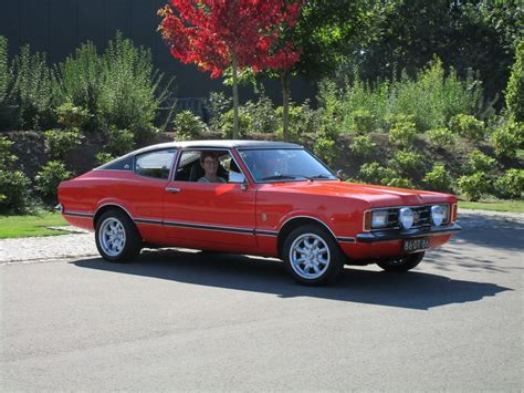 1972 And 1974 Ford Taunus Gxl Coupe