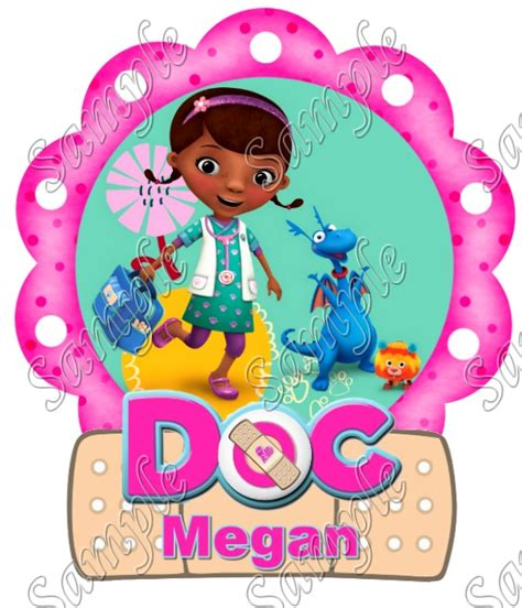 Doc Mcstuffins Iron On Transfers