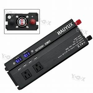 4000w  5000w Car Power Inverter Dc 12v To Ac
