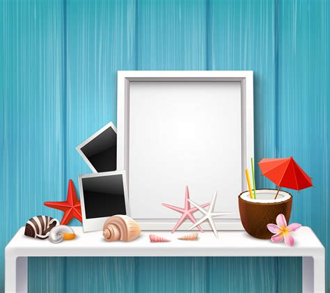 Realistic Blank Frame Template - Download Free Vectors, Clipart Graphics & Vector Art