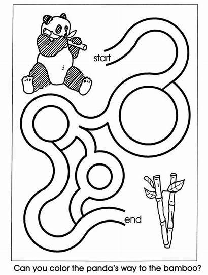 Easy Mazes Maze Printable Coloring Pages Colouring