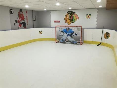Basement Hockey Rink   Basement   chicago   by D1 Backyard Rinks