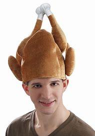 Thanksgiving Roasted Turkey Costume Hat Adult - One Size 54922b65efec