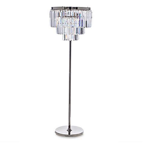 crystal floor standing l luxe crystal floor l z gallerie