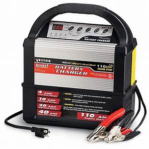 Vector U00ae 12 - Volt Smart Battery Charger