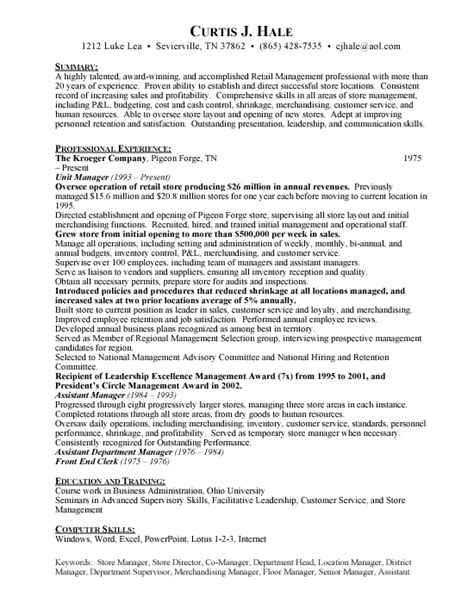 Grocery Store Manager  Free Resumes. Resume For Someone With Little Experience. How To Add Extra Curricular Activities In Resume. Peace Corps Resume Sample. Cook Job Description Resume