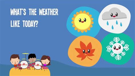 whats  weather  today song lyrics video  kids