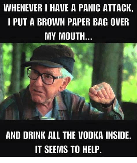 Panic Attack Meme - 25 best memes about paper bag paper bag memes