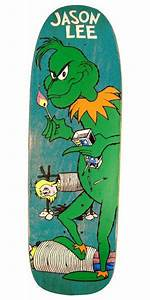 Cease and Desist Blind Jason Lee GRINCH Skateboard Deck ...
