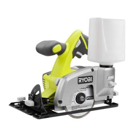 ryobi tile saw home depot ryobi 18v one tile saw console p580 the home depot