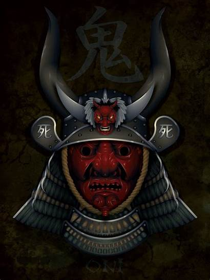 Mask Samurai Hannya Oni Tattoo Masks Tattoos