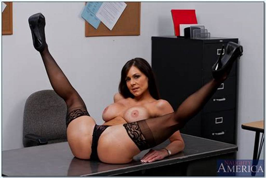 #Hot #Teacher #In #Stockings #Kendra #Lust #Stripping #Off #Her