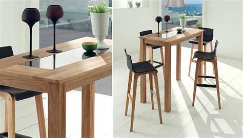table haute de cuisine table et chaise haute pour cuisine