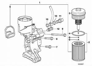 Bmw Genuine Oil Filter Element E36 U0026gt E85 3  5  7 Series  X3  X5  Z3  Z4 11427512300