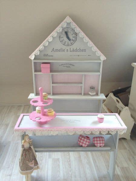 Kinderzimmer Mädchen Shabby by Shabby Chic Kaufmannsladen Name Weissgrau Rosa