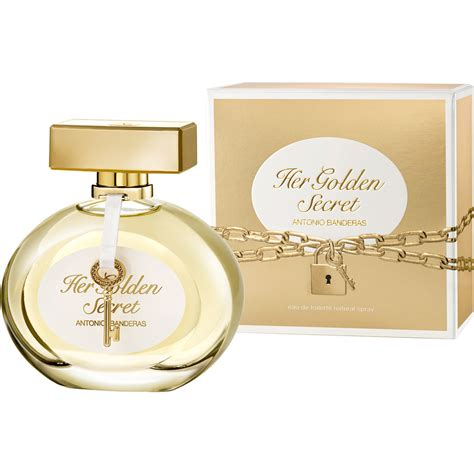 perfume antonio banderas golden secret feminino eau de toilette the box