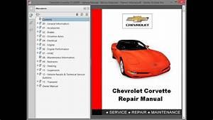 Chevrolet Corvette C5  2004    Repair