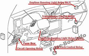 Fuse Box Diagram  U0026gt  Toyota Tacoma  2001