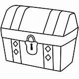Treasure Chest Drawing Coloring Simple Locked Pirate Drawings Pages Map Clipart Kidsplaycolor Easy Opened Little Clip Printables Empty Lock Bible sketch template
