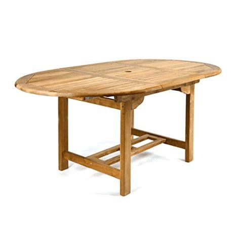 Divero Gl05520 Ovaler Ausziehbarer Gartentisch Esstisch