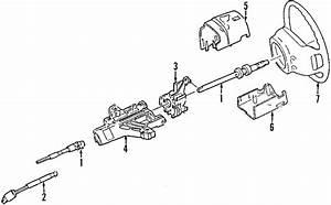 Mercury Mountaineer Steering Shaft  2002