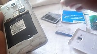 How to Insert SIM Card and microSD card into Samsung Galaxy Grand Prime DUOS - YouTube