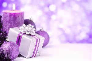 purple silver christmas decorations rachael edwards