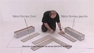 Pose Parquet Baton Rompu : pose parquet stratifi alsafloor alsapan en b ton rompu du ~ Zukunftsfamilie.com Idées de Décoration