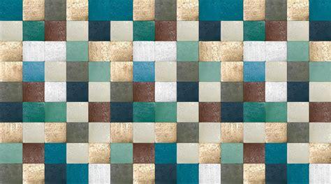 tin tiles wallpaper mural designed   perswallniclas