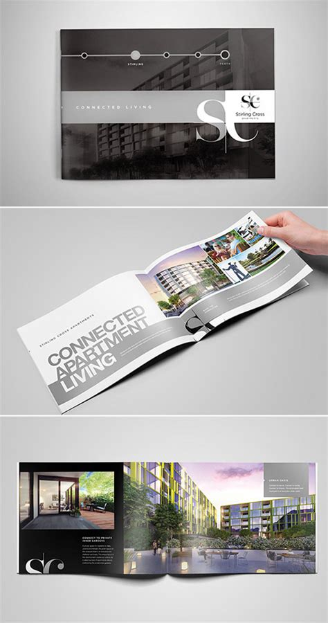 Real Estate Brochure Design Inspiration by A Collection Of Effective Real Estate Brochure Designs And