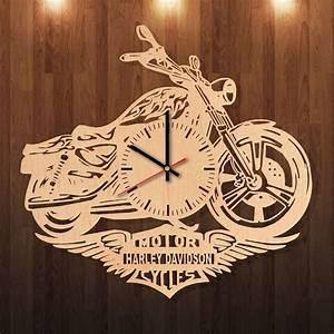 Harley Davidson Party Decorations HANDMADE natural wood
