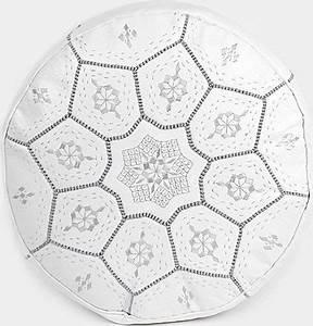 Poire Pouf Pas Cher : pouf marocain blanc vente pouf oriental blanc design ~ Melissatoandfro.com Idées de Décoration