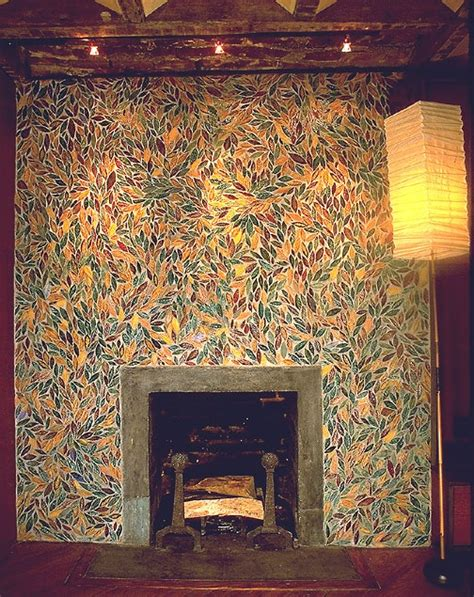 images  tile fireplaces  pinterest