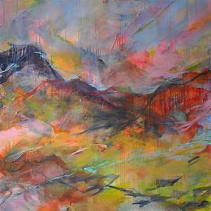 Abstract Landscape Paintings Canvas For Popular ...