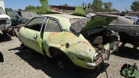 2020 Ford Pinto by Junkyard Gem 1971 Ford Pinto Coupe Autoblog 2018 2019