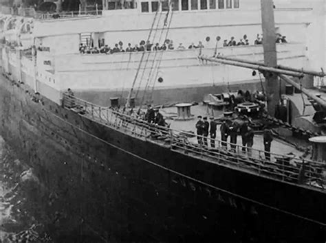 rms lusitania sinking animation rms lusitania leaves new york city on its fateful last