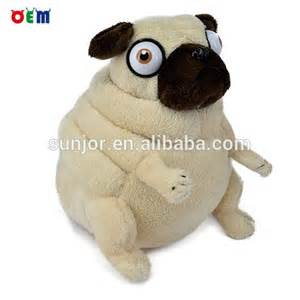 Pug Dog Plush Toy
