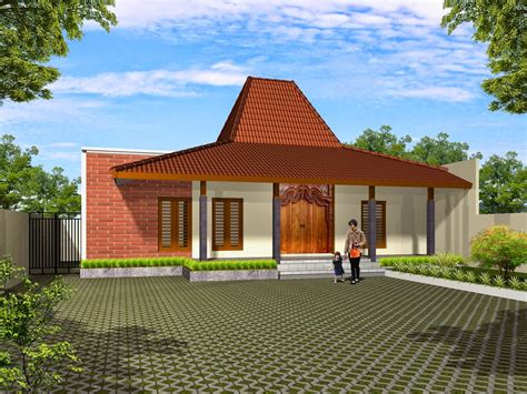 desain rumah minimalis gaya jawa modern rumahku unik