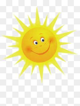 smiley sun png vector psd  clipart  transparent