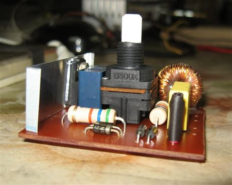 Dimmer Circuit For Soldering Iron Electronics