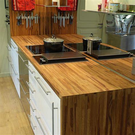 plan de travail cuisine chene plan de travail chêne brun massif français choix 26 32 38mm