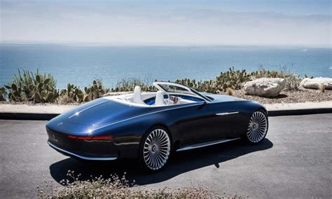 Mercedes Goes Long And Electric With Its Maybach Vision 6