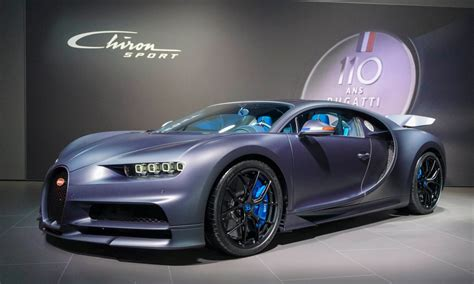 The new chiron sport 110 ans bugatti bears one of the most famous symbols of a proud nation. 2019 Geneva Motor Show: Bugatti Chiron Sport ?110 ans ...