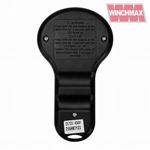 Wireless Winch Remote Control Twin Handset Winchmax Brand