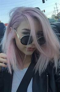 Pastell Lila Haare : pin by savanna davis on hair haar ideen bunte haare haarfarbe braun ~ Frokenaadalensverden.com Haus und Dekorationen