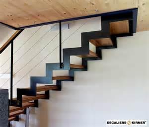 l escalier design sur mesures limon cr 233 maill 232 re m 233 tal inox