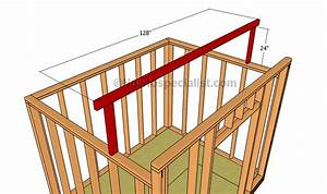 Saltbox Roof Framing Build Shed Howtospecialist